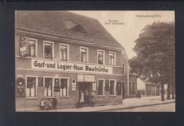 Dt. Reich AK Gast-und Logierhaus Bauhütte Schönebeck - Schoenebeck (Elbe)