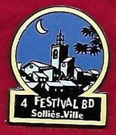 @@ 4e Festival De La BD Clocher De Sollies Ville Var PACA  (2.1x2.4) EGF @@bd31 - Fumetti