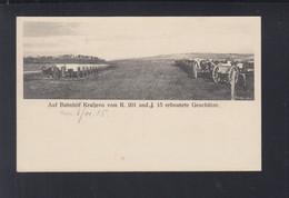 Dt. Reich Feldpost AK 1916 Erbeutete Geschütze In Kraljevo Serbien - Weltkrieg 1914-18