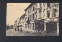 Belgien AK Dinant Le Quartier De La Gare - Dinant