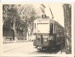 Photo - Thème Transport  - Tramway - Lieu à Identifier - Treni