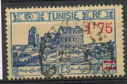 Tunisie - 1937-38 - El Djem Avec Surcharge Type II - Oblitéré - No 184ab - Cote 9,00 Euros - Unclassified