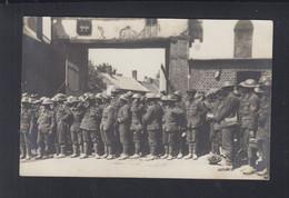 Dt. Reich AK Feldpost Gefangene Briten - Weltkrieg 1914-18