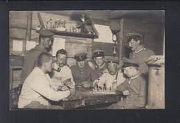 Dt. Reich AK Feldpost 1 WK Schach - Ajedrez