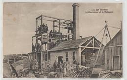 NECY  119. Les Carrières  Le Concasseur Et La Machinerie - Otros Municipios