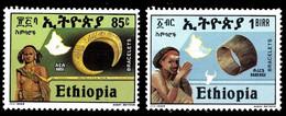 (315) Ethiopia / Ethiopie  Jewelry / Bracelets / Armreife / 1988 ** / Mnh  Michel 1302-1303 - Ethiopia