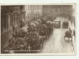 Soignies - La Retraite Allmande En Belgique November 1918 - Verzonden - Soignies