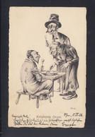 Dt. Reich PK  P.F.C. No. 3Judaika Judaism Jew S 1916 Frankfurt Am Main - Judaika
