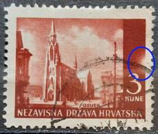 LANDSCAPES - 3 K-OSIJEK-CATHEDRAL-ERROR- SUN-NDH-CROATIA - 1941 - Croatia