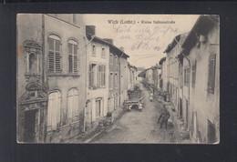 Frankreich France AK Wich Lothringen Kleine Salinenstrasse 1915 - Lorraine