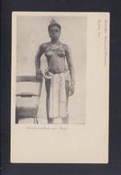 AK Fetischmädchen Aus Togo Dt. Kolonial-Museum - África