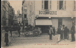 Dijon ; Vérification Du Lait  Rue J.J. Rousseau - Dijon
