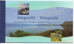 Islanda 2002 Libretto Pesci / Island 2002 MH Fische - Booklets