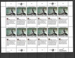 ONU Genève Feuilles N°180 à 185 X 4  Droits De L'Homme Neufs * * TB =MNH VF Soldé Au Prix De La Poste En 1989  ! ! ! - Cartas