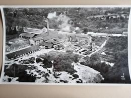 -Plémet-(Cotes D'Armor)-L'usine De Kaolin-45 Cms Par 27 Cms - Lugares