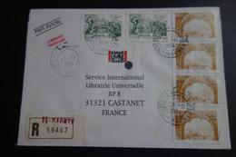 Lettre En Recommandée De EL MADHER - Storia Postale