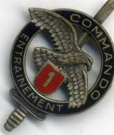 Insigne Centre D Entrainement Commando N° 1___drago - Heer
