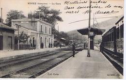 AVEYRON - VIVIEZ - La Gare - Stations Without Trains