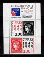 YV P3212A N** Paire 3211 & 3212 Se Tenant + Vignette Cote 8,50 Euros - Unused Stamps