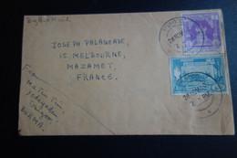 Lettre De BIRMANIE Pour MAZAMET 1960 - Myanmar (Burma 1948-...)
