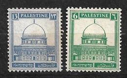 Palestine   N° 67 Et 71  Neufs  ( * )  B/TB    Voir  Scans  Soldé ! ! ! - Palestine