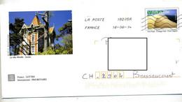 Pap Dune Flamme Chiffree Illustré Soulac - Prêts-à-poster: Other (1995-...)