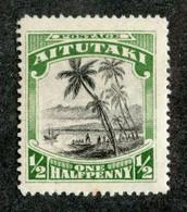 BC 2287 Aitutaki 1920 SG.24* Offers Welcome! - Aitutaki