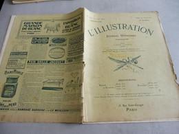 L'ILLUSTRATION 9 JANVIER 1909-Italie-no Spécial TREMBLEMENT DE TERRE DESTRUCTION DE MESSINE ,SICILE, REGGIO DE CALABRE,P - L'Illustration
