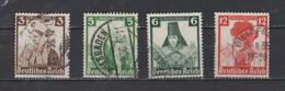 IIIème  REICH  1935  MI /  588 - 590 - 591 - 593 - Usati
