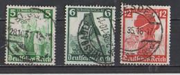 IIIème  REICH  1935  MI / 590 - 591 - Usati