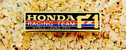 Pin's AUTOMOBILE SPORT F1 - HONDA F1 Racing Team - Peint Cloisonné - Fabricant Inconnu - F1