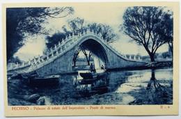 PECHINO, CINA (BEIJING CHINA) - Palazzo Di Estate Dell'imperatore Ponte Di Marmo - China