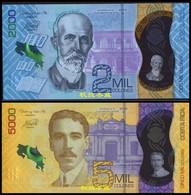 Costa Rica 2000 And 5000 Pesos, (2020), Polymer, UNC - Costa Rica