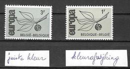 België Nr1343 Met Afwijkende Kleur - Non Classés