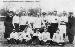CPA De L'équipe 1ère De Rugby De BORDEAUX (Champion De France). - Rugby