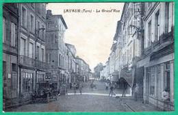 LAVAUR - LA GRAND' RUE - Lavaur