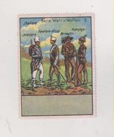 GERMANY AUSTRIA MILITARIA ITALY Poster Stamp No Gum - Militares