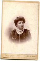 Bolbec(76): Photo Type Cdv. Louis Photographe Vers 1900 - Persone Anonimi