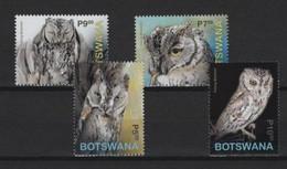 Botswana (2020) - Set -   /  Birds - Oiseaux - Owls - Eulen - Aves - Owls