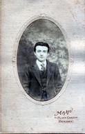 Bolbec(76): Photo Mahu, Place Carnot. Années 1920 - Persone Anonimi