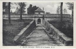33  Blaye  Entree De La Citadelle - Blaye
