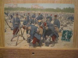 REGIMENT AUX REPOS - Regimenten
