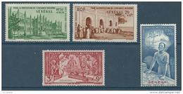 """Senegal Aerien YT 18 à 21 """" 4 Timbres De L'année """" 1942 Neuf* - Airmail"""