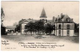 SAINT-POTAN Près De Matignon, Le Château De La Hauguemorais. - Other Municipalities