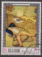 1968 - Art, Peinture - RAS AL KHAIMA - Musée De Munich - Brueghel L'ancien: Le Pays De Cocagne - N° 45/18 - Ra's Al-Chaima
