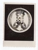 1920s 30s SLOVENIA,LJUBLJANA,A.NOVAK,CREST,MARQUETRY,ORIGINAL PHOTOGRAPH,SCHOOL EXHIBITION,11X8cm - Other