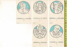 KL 1150 - KONINGIN DER APOSTELEN - BELIJDERS - MAAGDEN - MARTELAREN - ALLE HEILIGEN - L. LT 41-4-43-44-45 - Andere