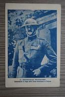 Rare - Carte Croix-Rouge Américaine En ITALIE - Croce Rossa Americana In Italia - Photo Du Général PERSHING - Sin Clasificación