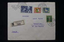 SUISSE - Enveloppe En Recommandé De Dübendorf En 1930 Pour La France - L 88057 - Postmark Collection