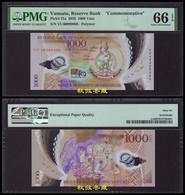 Vanuatu 1000 Vatu (2020), Commemorative, Polymer,folder,Low Number #66, PMG66 - Vanuatu